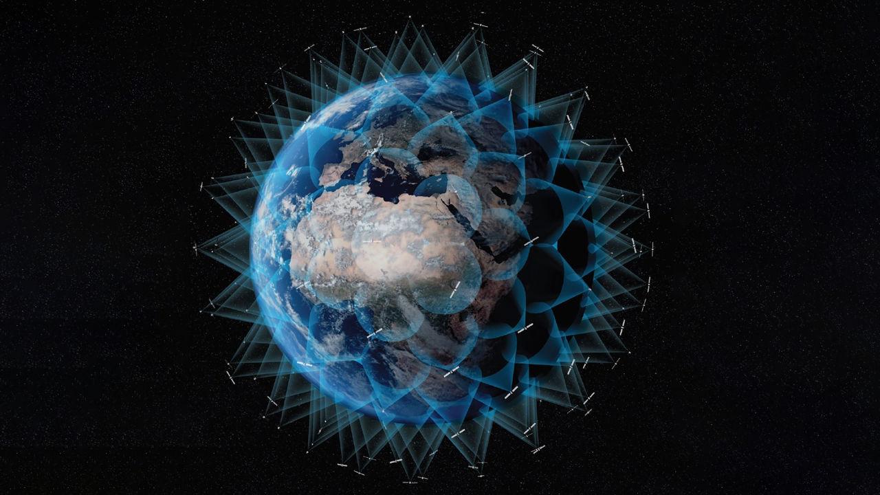 Satellite mega contellation