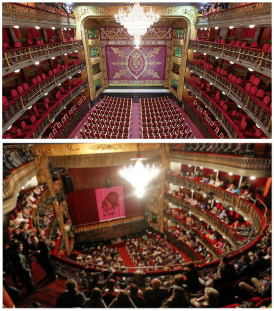 Teatro español - sala principal