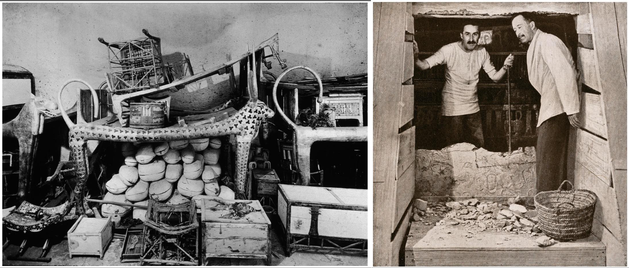 howard carter 1922 tut ankh tomb