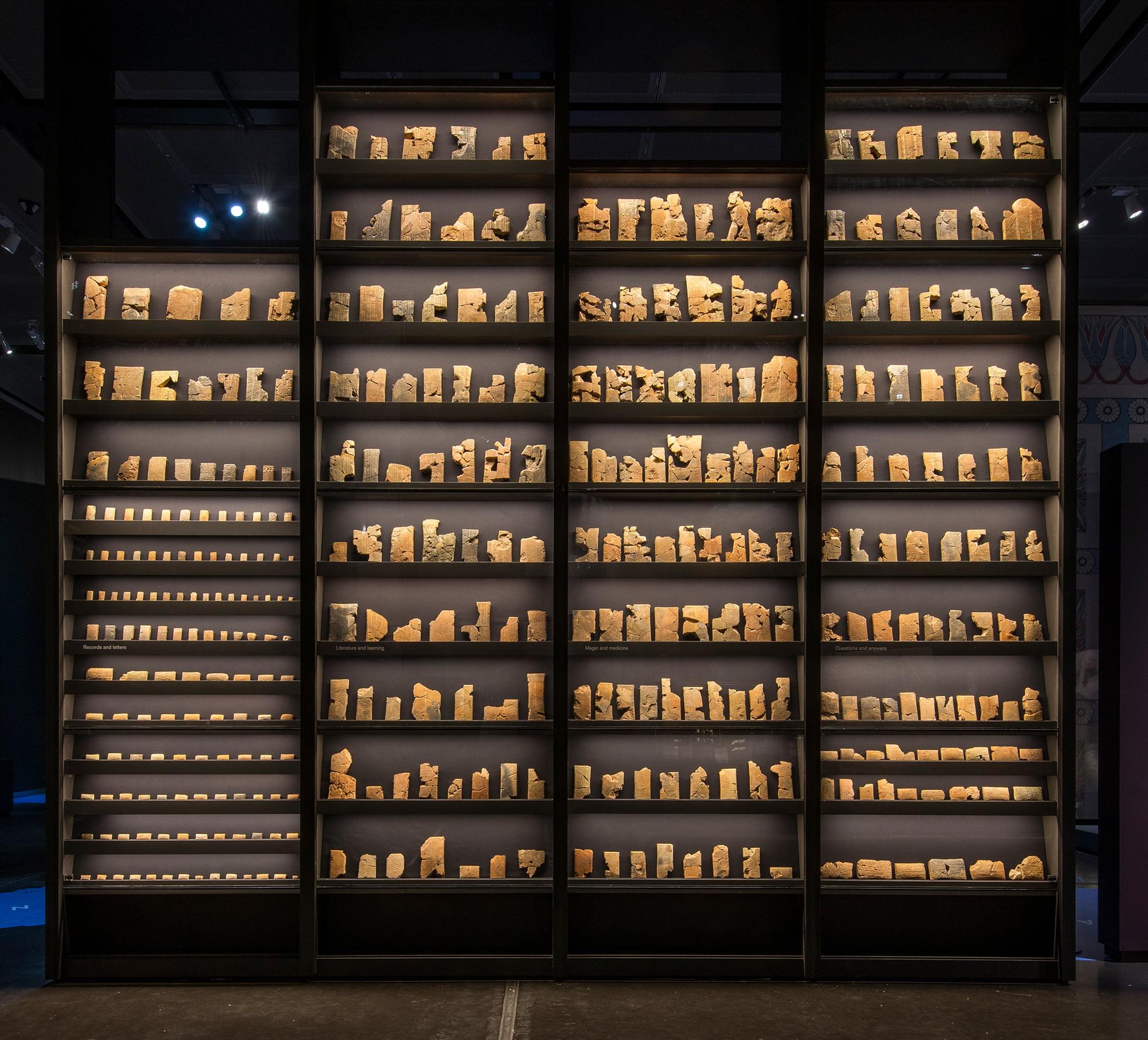 לוחות אשוריים במוזיאון הבריטי