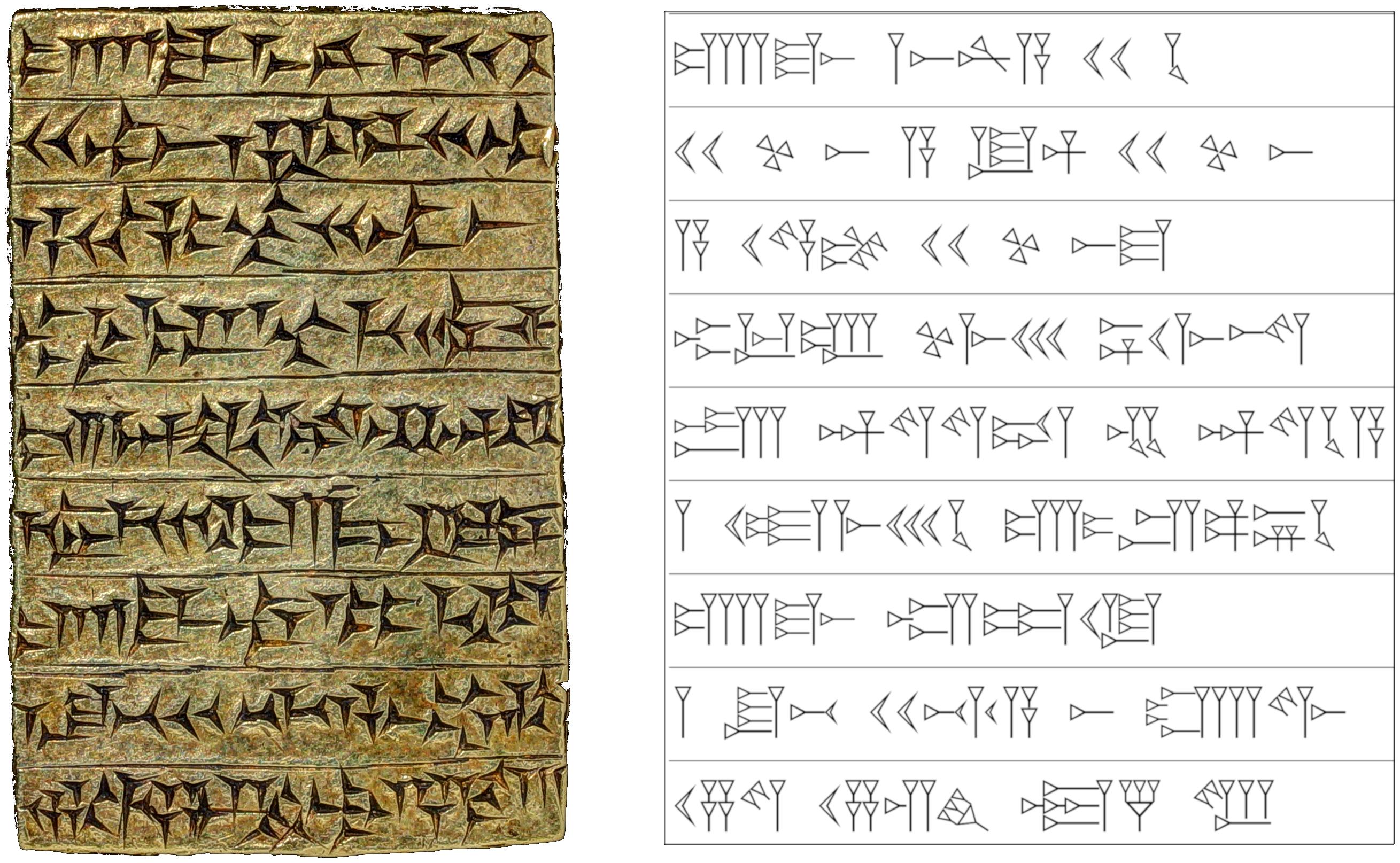 ashurnasirpal gold tablet