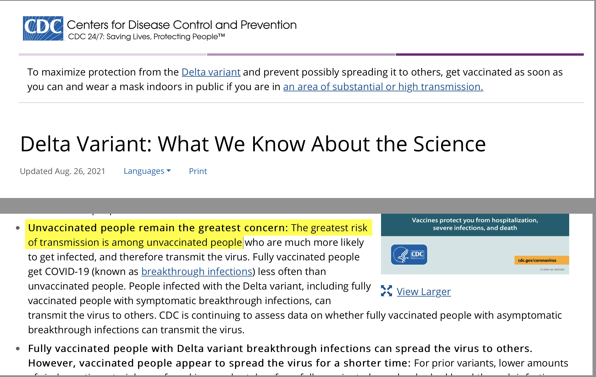 cdc delta variant what we know
